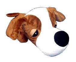 Boss Pet FatHedz Beagle Dog Toy