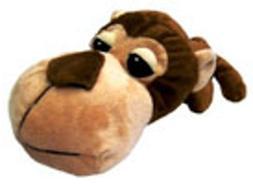 Boss Pet FatHedz Monkey Dog Toy