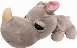 Boss Pet FatHedz Rhino Dog Toy