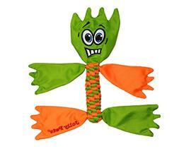 Jolly Pets Flathead Tug/Squeak Toy, Medium