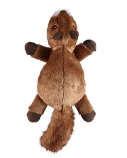GoDog Flatz Dog Toys, Choose from: Squirrel, Opossum