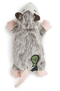 GoDog Flatz Opossom Toy with Chew Guard