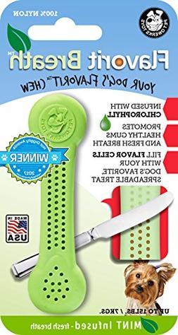 Pet Qwerks Flavorit -Breath/Mint Flavored Nylon Bone for Agg