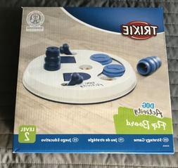Trixie Flip Board Interactive Dog Toy Puzzle  Black