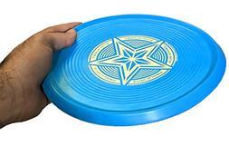 Wave Runner 8.5in Flying Disc Soft Rubber Flat Design Great