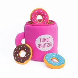 ZippyPaws Food Buddies Burrow, Interactive Squeaky Hide and