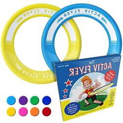 Activ Life Best Kids Flying Rings  - Top Birthday Presents &