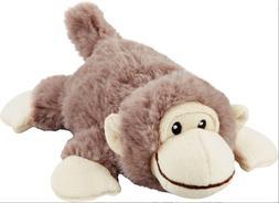 Frisco Plush Squeaking Monkey Dog Toy, Medium