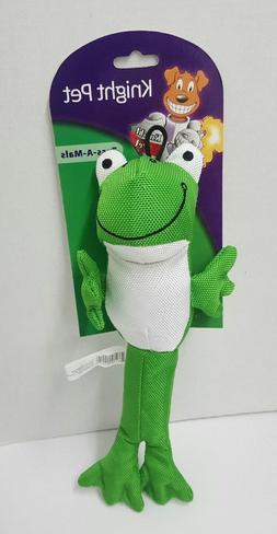 Frog Knight Pet Toss-A-Mals Heavy Duty Dog Toy