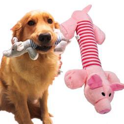 Fun Pet Puppy Dog Chew Sound Squeaker Squeaky Puppy Toys Plu