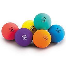 Zanies Fun Rubber Dog Balls Colorful and Bright