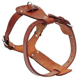 Beirui Genuine Leather Dog Harness - No Escape Pet Training