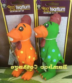 MULTIPET GLOBKEN CHICKEN Dog Toy MINI 5.5 squeaker Globkens