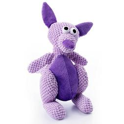 Go Dog Checkers Kangaroo Toy With Chew Guard