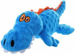 Go Dog Gator Plush Dog Toy ChewGuard GoDog Comfort Toy Sever