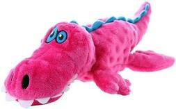 Go Dog Gators Dog Toy Color: Pink. Size: Large.