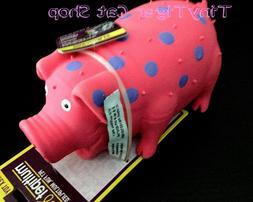 Multipet Goblets Dog Toy Squeaker Pig Globlet LARGE pigs COL
