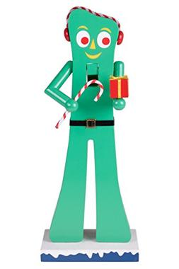 Gumby Wooden Christmas Nutcracker by Clever Creations   Offi