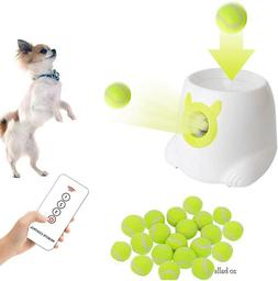 NEW Happets Automatic Tennis Ball Launcher Throwing Machine