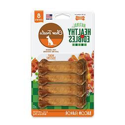 Nylabone Healthy Edibles Natural Dog Treats, Bacon, X-Small,