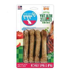Nylabone Healthy Edibles Puppy Chew Treats, Lamb & Apple, Pe
