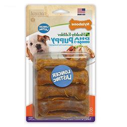 Nylabone Healthy Edibles Puppy Chew Treats, Turkey & Sweet P