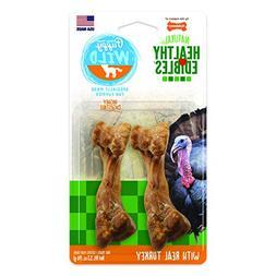 Nylabone Healthy Edibles Puppy Chews Wild Turkey, Small 4ct