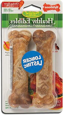 Nylabone Healthy Edibles, Chicken Twin Pack, 2 Count, 36 Pac