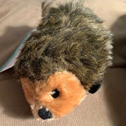 ZippyPaws Hedgehog Squeaky Plush Dog Toy, Small