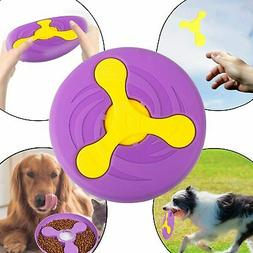 HELLO PAPAYA Dog Frisbee Toys Soft Dog Flying Discs Interact