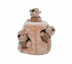 Outward Hound Hide-A-Squirrel Dog Toy Plush Dog Squeaky Toy