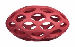 JW Pet  Hol-ee  Assorted  Hol-ee  Rubber  Football Dog Toy