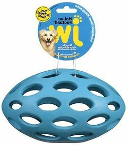 JW Pet Company Hol-ee Football Size 8 Rubber Dog Toy, Large,