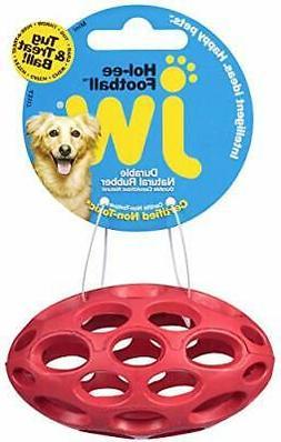 JW Pet HOL-EE Football Dog Toy Mini