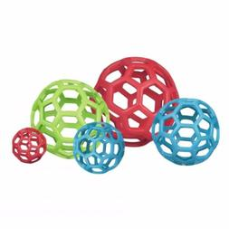 Hol-ee Roller, JW Pet - Durable Rubber Dog Toy - Size S/XL A