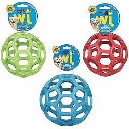 JW Pet Holee Roller Ball Dog chew Toy Hol-ee ball Assorted C