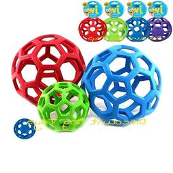 JW Pet Holee Roller Ball Dog Toy small medium large, XL