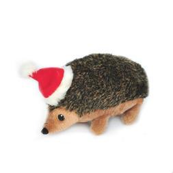 ZippyPaws Holiday Hedgehog Squeaky Plush Dog Toy, Large