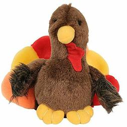 Multipet Holiday Talking Dog Toy - Tyler Turkey