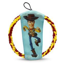 Hyper Pet Disney Woody & Forky Rope Flyer Dog Toy