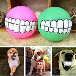 Indestructible Solid Rubber Ball Pet Dog Toy Training Chew P