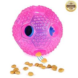 SANTIAOTUI Interactive Dog Toy - IQ Treat Ball Food Dispensi