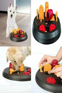 Interactive Dog Toys Puzzle Pet Food Treat Dogs Tough Play F