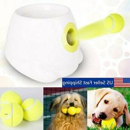 Interactive Hyper Fetch Mini Treat Dog Cat Pet Ball Launcher