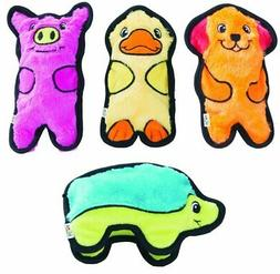 Outward Hound Invincibles Plush Stuffing-less Dog Toys with