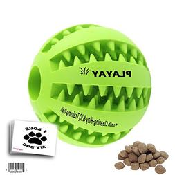 IQ Treat Ball  FOR DOGS & CATS  Durable Non Toxic- BPA FREE-