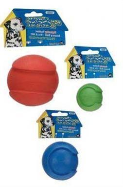 JW Pet Company iSqueak Bouncin' Baseball Dog Toy, Medium  by
