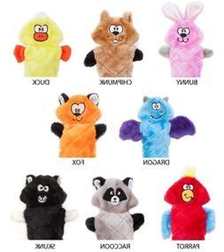 ZippyPaws Jigglerz - Fox, Bunny, Duck, Chipmunk, Parrot Sque