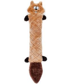 ZippyPaws - Jigglerz Tough No Stuffing Squeaky Plush Dog Toy