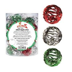 Zanies 45-Piece Jolly Jingle Ball Canister for Pets